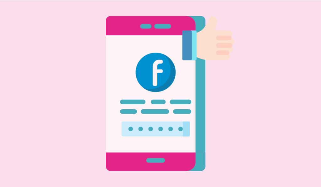 how to market online courses - an illustration of facebook profile