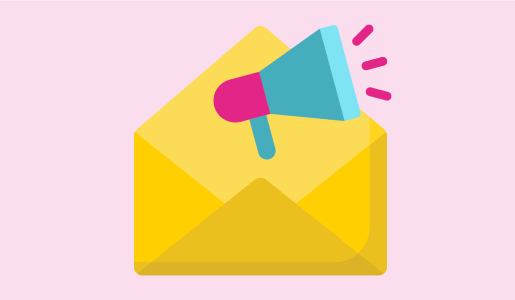 email list - an illustration of an email campaign